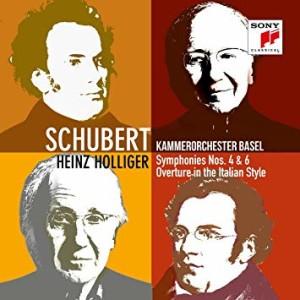 CD, événement, critique. SCHUBERT : Symphonies 4 et 6 D 417, D 589. Kammerorchester Basel, Heinz Holliger (1 cd SONY classical, 2018)