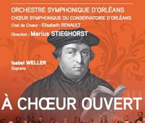ORLÉANS, Orchestre Symphonique : A Chœur ouvert (de Bach à Wagner…)