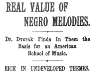 Real Value of Negro Melodies (mai 1893)