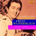Fritz Wunderlich dans Don Pasquale de Donizetti, en première mondiale