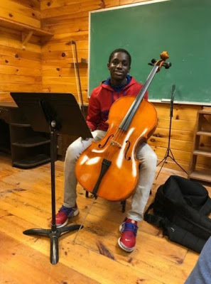 18-year-old African-American cellist Mouhamed Cisse was shot and killed amid Philadelphia race protests