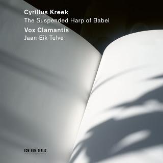CD : Jaan-Eik Tulve chef de chœur estonien spécialiste du chant grégorien célèbre avec ses 14 chanteurs Vox Clamantis la musique chorale de son compatriote Cyrillus Kreek