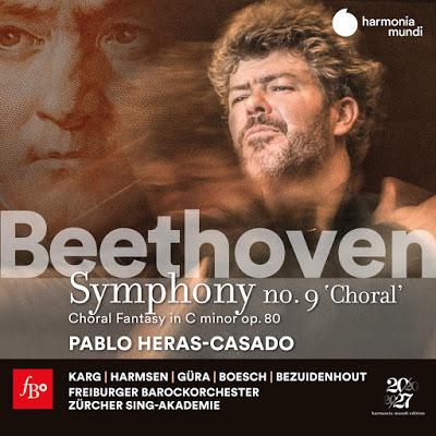 Freiburger Barockorchester, Heras-Casado : Beethoven Choral Fantasy and Symphony no 9