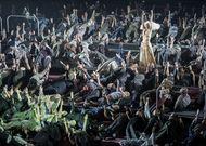 Français - Streaming : Moïse et Aaron à la Komische Oper par Barrie Kosky, ou les temps du temps