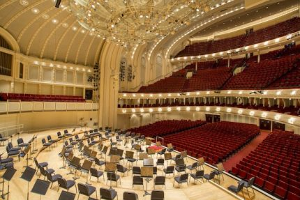 Chicago Symphony Orchestra cancels all events through end of year