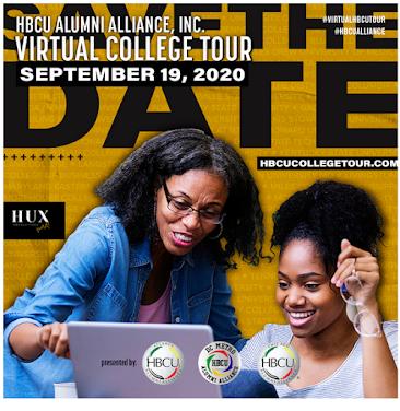 HBCU Alumni Alliance, Inc. Virtual College Tour September 19, 2020