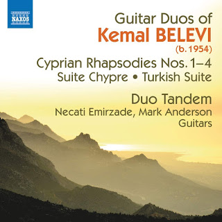 Born in Cyprus, trained in London, the name Kemal Belevi is perhaps not well known but this disc from Duo Tandem is full of delightfully evocative pieces