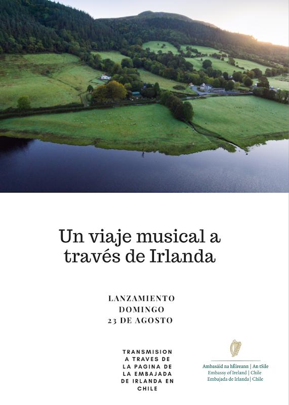 """Se anuncia lanzamiento de serie de vídeos """"Un viaje musical a través de Irlanda"""""""