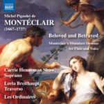 Pignolet de Montéclair: mini-drames d'amour pour flûte et voix