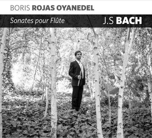 El flautista chileno Boris Rojas lanza recientemente disco con sonatas de J. S. Bach