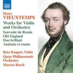 Subtile interprétation de pages pour violon et orchestre de Vieuxtemps