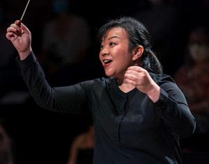 PARIS, Concours ds cheffes d'orchestre La MAESTRA : Rebecca TONG, lauréate 2020