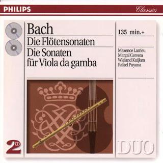 Bach: Sonatas para flauta y clave BWV 1030-1031