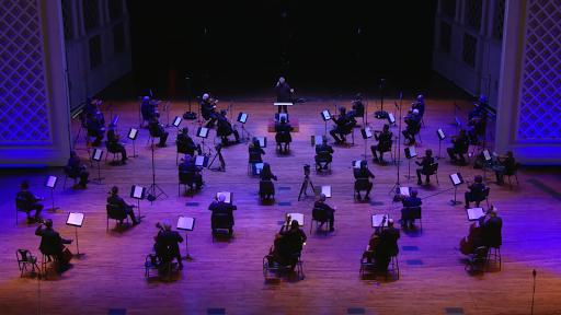 Live Broadcast - Cincinnati Symphony Orchestra.  Louis Langree, conductor; Augustin Hadelich, violin.  October 24, 2020.
