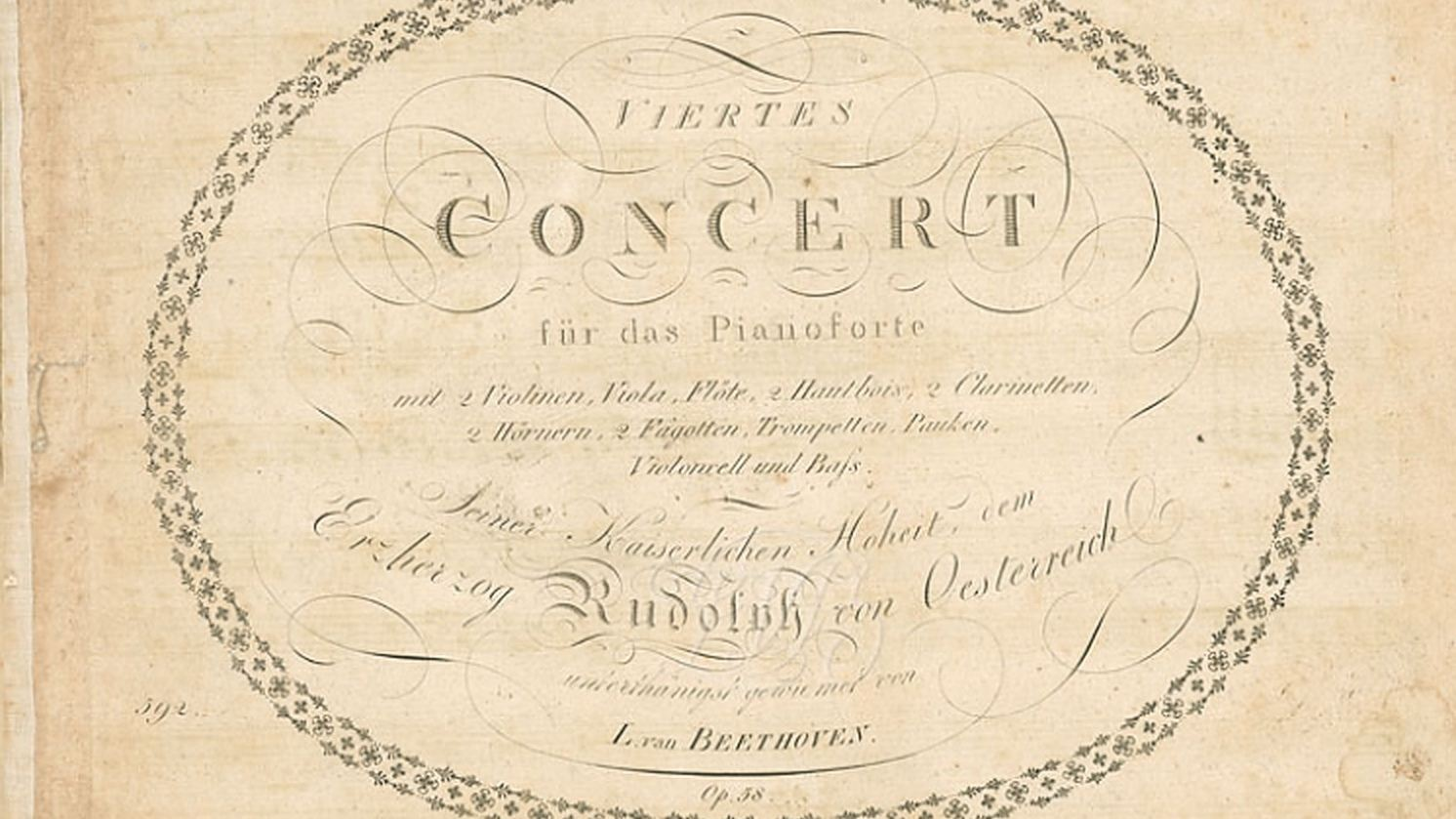 Beethoven's Fourth Piano Concerto: An Intimate and Sublime Dialogue