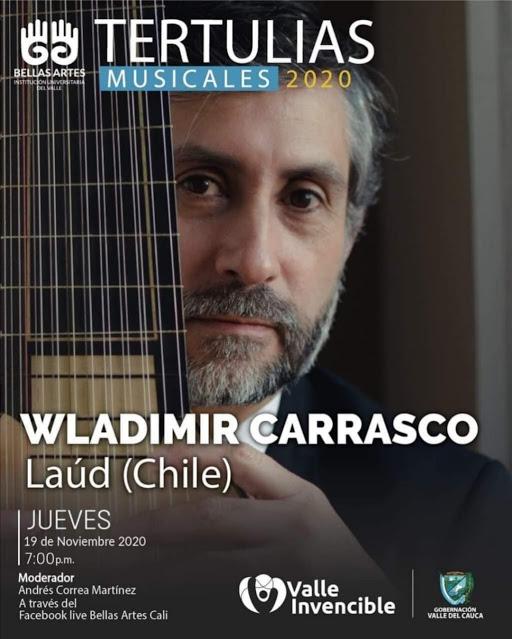 WLADIMIR CARRASCO ES ENTREVISTADO POR EL TEATRO DE BELLAS ARTES DE CALI, COLOMBIA.