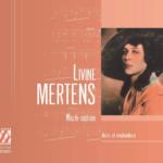Portrait-souvenir de la mezzo-soprano belge Livine Mertens