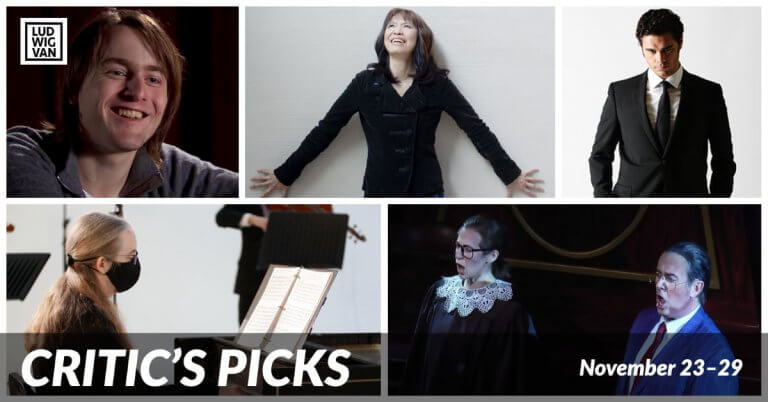 CRITIC'S PICKS | Classical And Opera Streams You Absolutely Need To See This Week