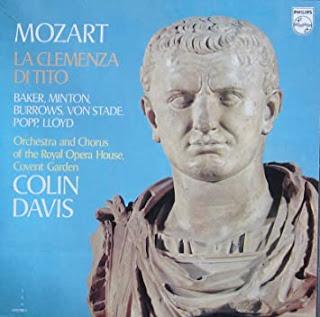 Mozart, La Clémence de Titus, Davis, 1976