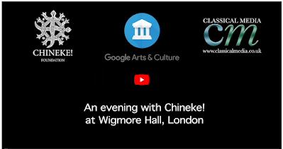 Chi-chi Nwanoku Updates on Chineke!: An evening with Chineke! at Wigmore Hall, London; Chineke! Black Legacies from Wigmore Hall; Recent interview