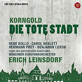 Korngold, La Ville morte, Leinsdorf, 1975