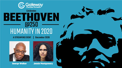 Gateway Chamber Orchestra Celebrates Beethoven@250: Humanity in 2020, A Streaming Event, December 2020, George Walker and Jessie Montgomery