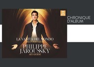 """Français - Chronique d'album : """"La Vanità del Mondo"""", de Philippe Jaroussky"""