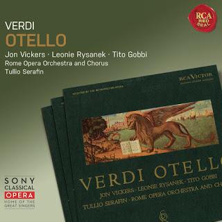 Verdi, Otello, Serafin, 1961