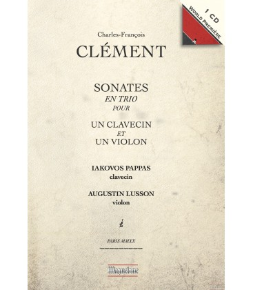 CD, événement critique. CLÉMENT : Sonates en trio, Iakovos Pappas (Maguelone, 2019)