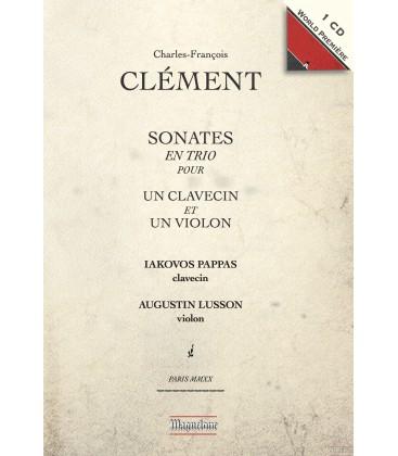 CD, événement critique. CLÉMENT : Sonates en trio, Iakovos Pappas / Augustin Lusson (Maguelone, 2019)