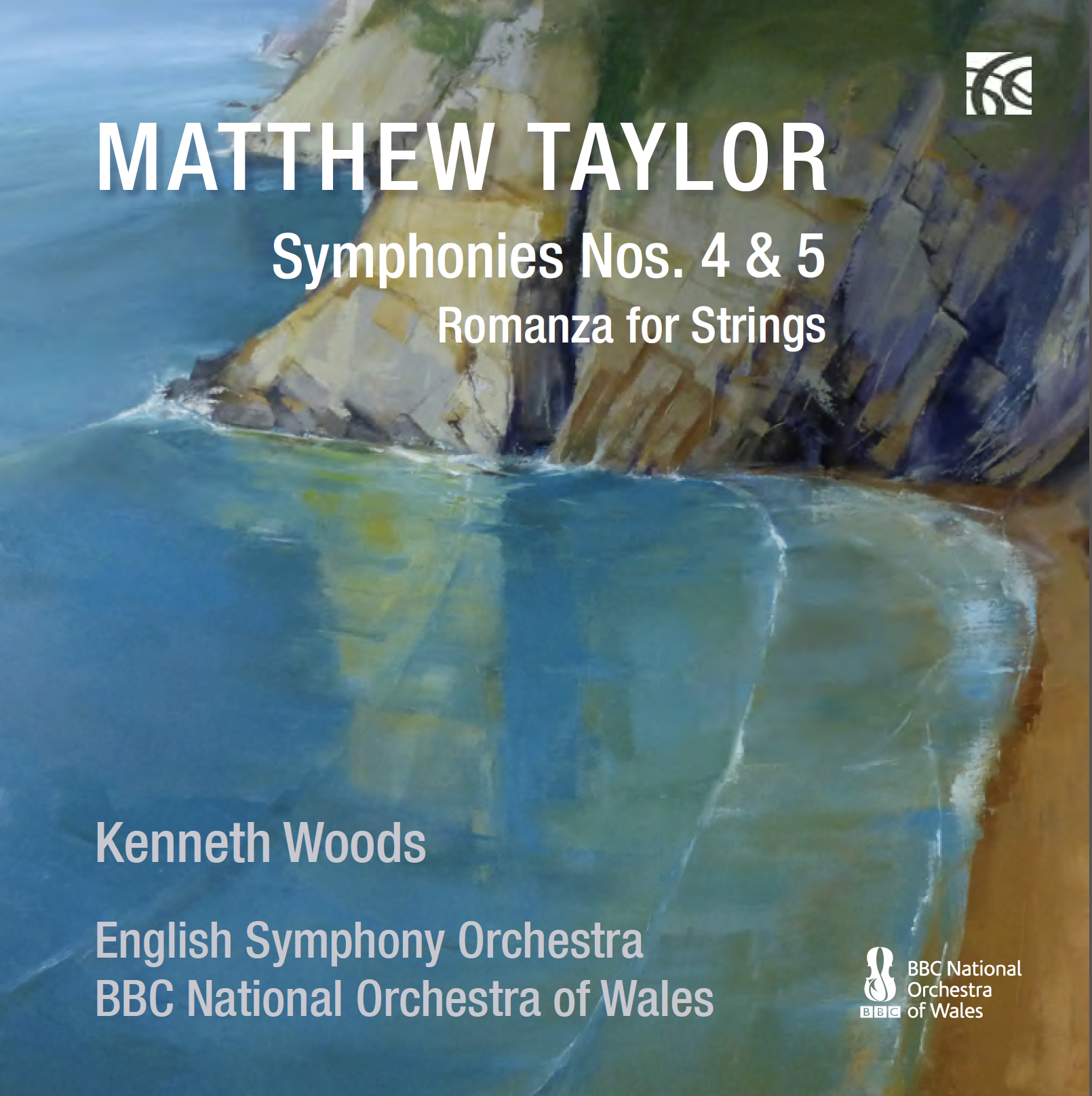 CD Review: Matthew Taylor's Fourth and Fifth Symphonies, BBC National Orchestra of Wales and English Symphony Orchestra (Nimbus)