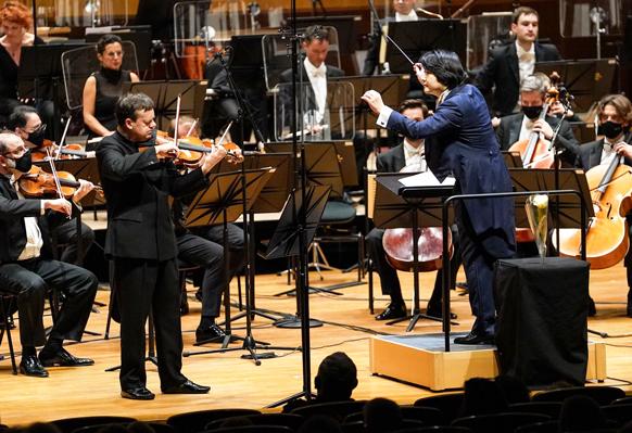 COMPTE-RENDU, concert. MONACO, Auditorium Rainier III, le 10 janvier 2021. Orchestre Philharmonique de Monte-Carlo, FP Zimmermann (violon), Y Yamada (direction)