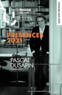 Pascal Dusapin, invité central du festival de création musicale Présences de Radio France 2021