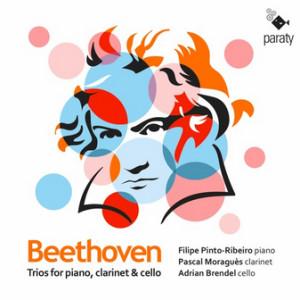 CD critique. BEETHOVEN : Trios opus 11 et 38, piano, clarinette, violoncelle (Pinto-Ribeiro, Moraguès, Brendel) 1 cd PARATY 2020