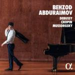 Abduraimov dans Debussy, Chopin et Moussorgski: images en tous genres