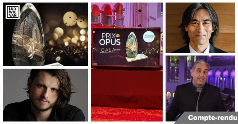 COMPTE-RENDU   Prix Opus: les moments forts et tous les lauréats d'un gala virtuel en temps de pandémie