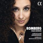 Première gravure mondiale  de trois concertos pour violon d'Andreas Romberg