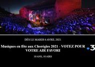 Français - Musiques en fête 2021 : « 10 ans, 10 airs »