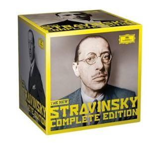 CD coffret événement, critique, «The New Stravinsky Complete Edition», 30 cd Deutsche Grammophon DG, CLIC de CLASSIQUENEWS, Printemps 2021.
