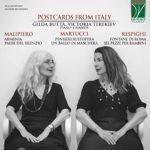 Cartes postales pianistiques d'Italie