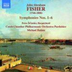 Premier enregistrement mondial des symphonies de John Abraham Fisher