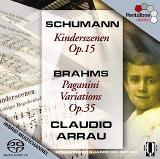 Arrau cuadrafónico: Schumann y Brahms