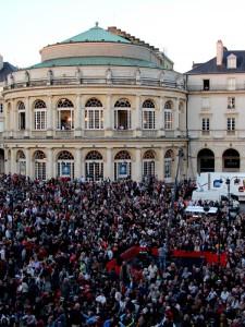 RENNES, Opéra : Nouvelle CHAUVE SOURIS en plein air (9 juin 2021)
