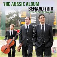 Benaud Trio & Greta Bradman: Piano Trios by Carl Vine, Matthew Hindson, Percy Grainger, Paul Stanhope, Nicole Murphy & Iain Grandage