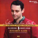 Quatrième volume de l'intégrale pour clavier par Benjamin Alard: Bach à l'heure vénitienne