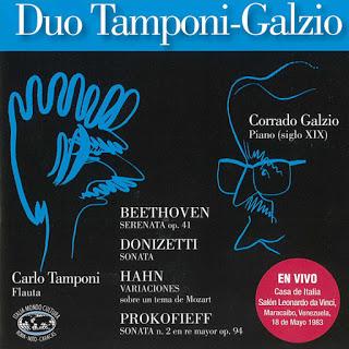 Tema con variaciones en el blog: A un año de la muerte del Maestro Corrado Galzio