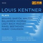 Trois coffrets pour trois portraits de pianistes:  Louis Kentner, Artur Balsam et Hélène Boschi