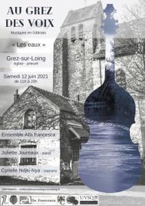 GATINAIS : Festival Au Grez des voix (Delius) : 12 juin 2021