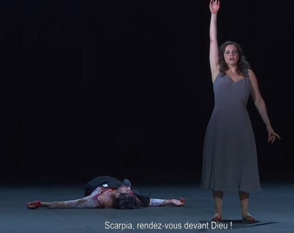 LIVE STREAMING, opéra. LILLE, Opéra. Le 3 juin 2021. PUCCINI : Tosca. Joyce El-Khoury, Orchestre National de Lille – Alexandre Bloch