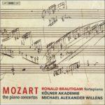 Une très enthousiasmante intégrale des concertos pour piano de Mozart sur instruments d'époque